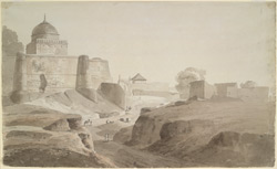 Mosque, Sambhal (U.P.). 24 March 1789